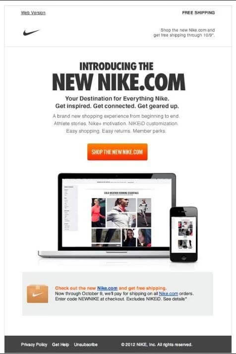 nike-website-product-announcement