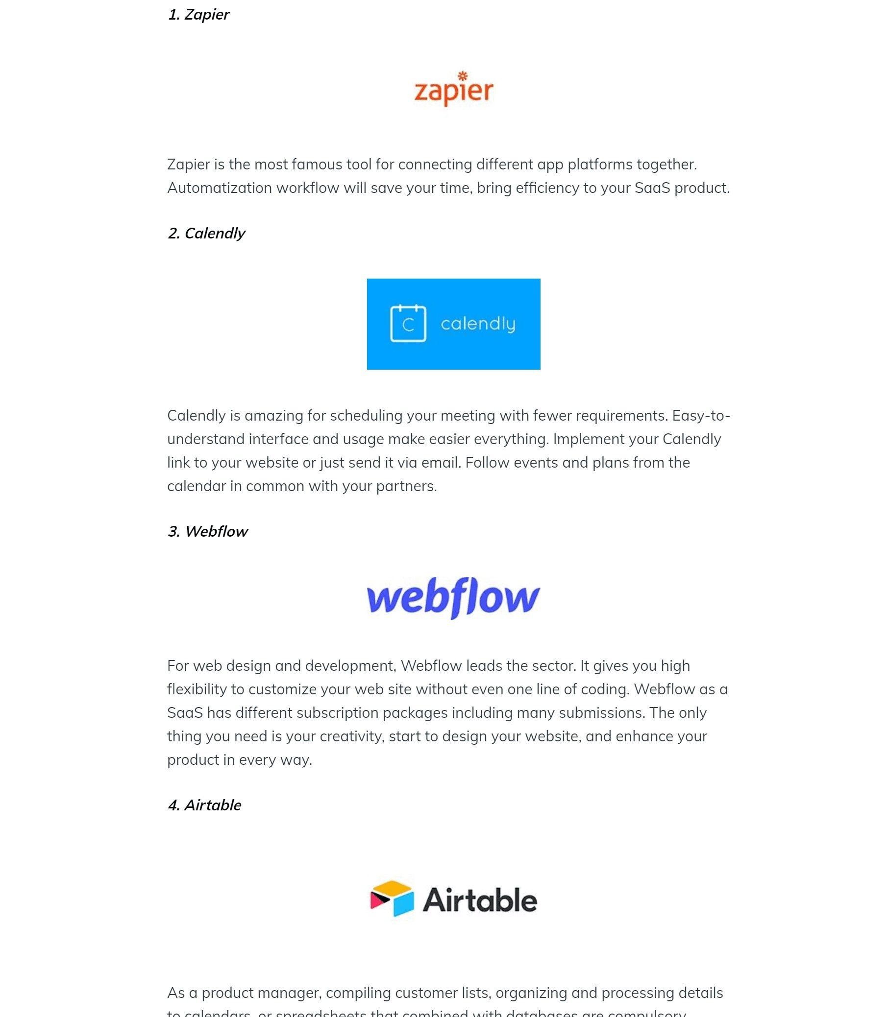 best-no-code-platforms