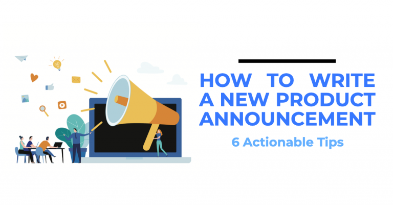 How to write a new product announcement?