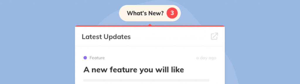 how to announce new features