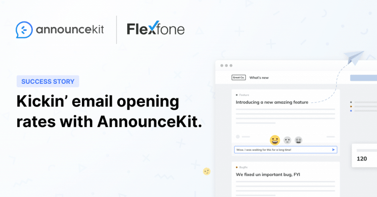 Flexfone Found a Fast and Friendly Way of Notifying Their Customers with AnnounceKit